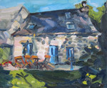 Painting of house in France